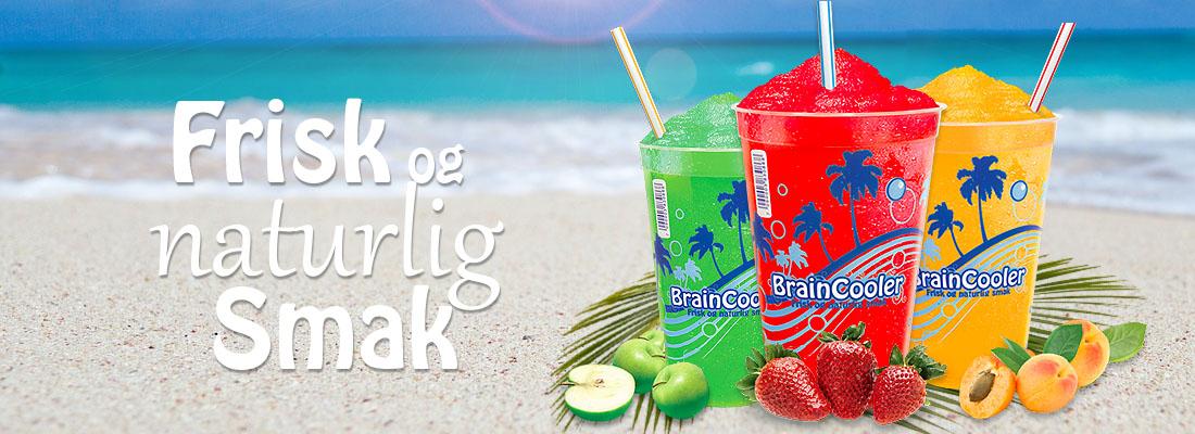 Brain Cooler - Frisk og naturlig smak