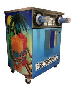 Salgsdisk til BrainCooler slushmaskin