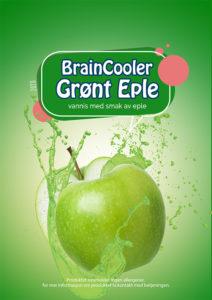 Slushsmak - Grønt Eple
