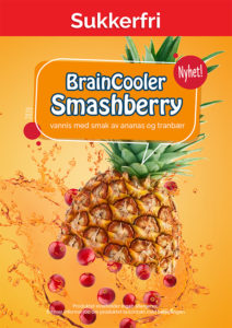 Slushsmak - Smashberry - Sukkerfri